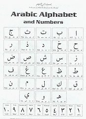 "Poster: Arabic Alphabet Poster Large Size 23"" x 35"""