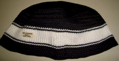 Knitted Black and White
