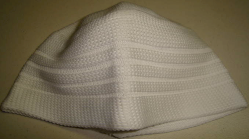 Knitted White Indonesian
